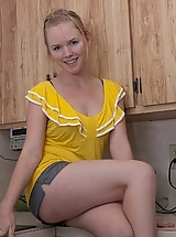 Eve Kisa gets kinky in the kitchen